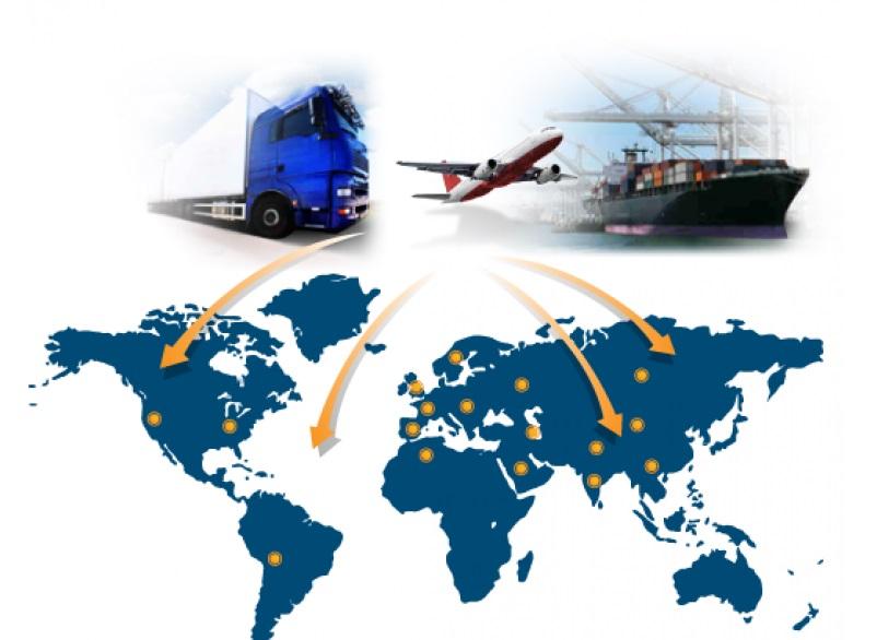 Mạng lưới chuyển phát nhanh quốc tế rộng khắp thế giới